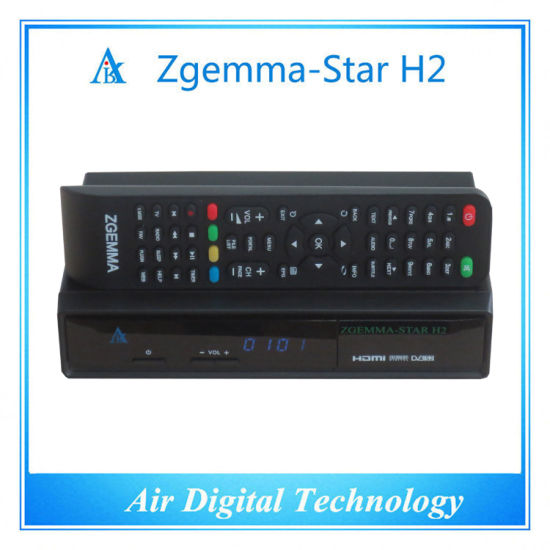 Italy TV Decoder DVB T DVB T2 + DVB S2 Zgemma-Star H2 pictures & photos