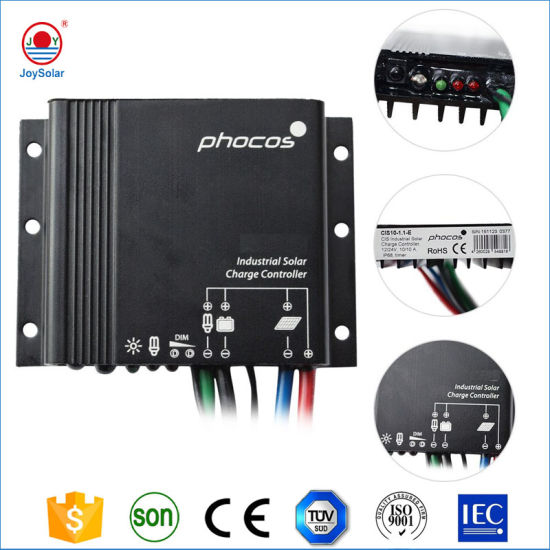 Phocos 12V and 24V 5A, 10A, 20A Solar Charge Controller for Solar Street Light and Solar Home System