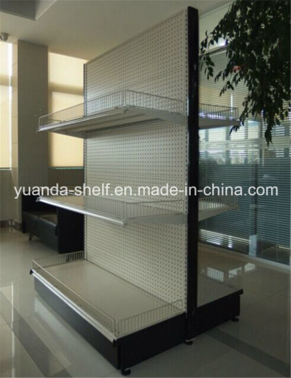 High Quality Wholesale American Style Supermarket Display Shelving Rack