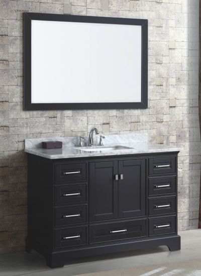 Bathroom Cabinet With Black Color