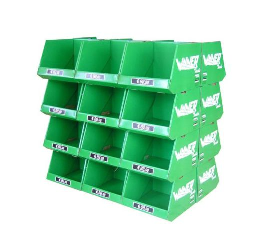 Wholesale Printed Cardboard Promotional Pallet Counter Display Boxes pictures & photos