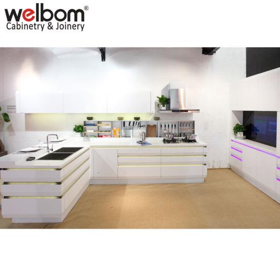 Welbom Modular Modern Custom Luxury Kitchen Furniture