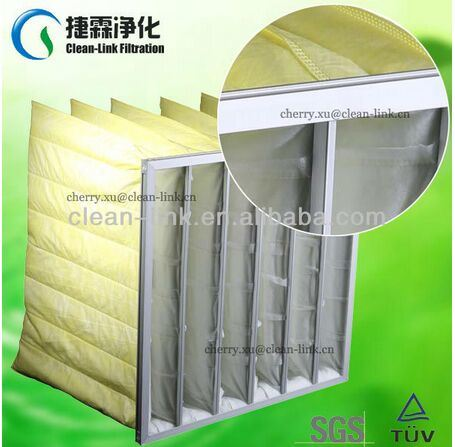 Dust Collector Synthetic Pocket Filter Factory pictures & photos
