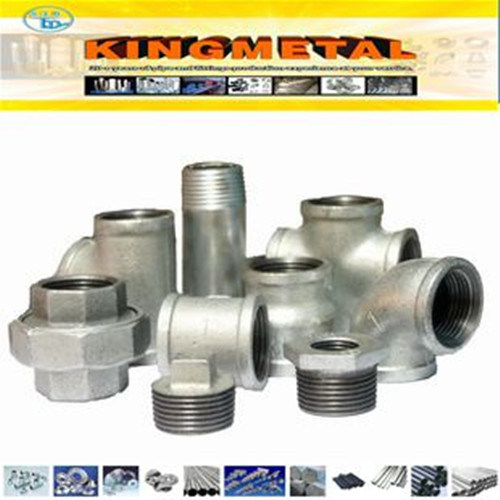 Best Price Galvanized/Black Malleable Iron Pipe Fittings
