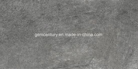 30X60 Dark Gray Rustic Wall Tile Rough Surface Non Slip Stone Floor Tiles