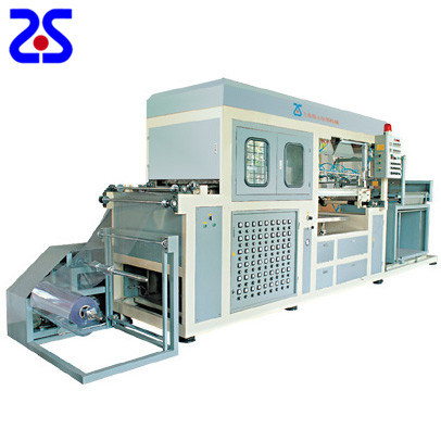 Zs-1220 PLC Control High Speed Vacuum Forming Machine pictures & photos