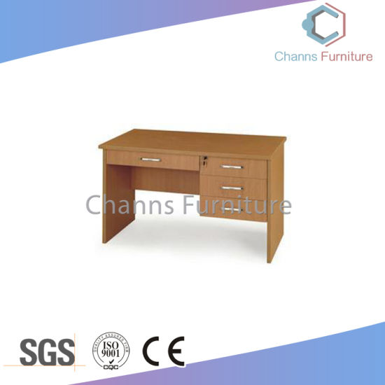 Hot Sale 12m Computer Desk Office Table With Hanging Cabinet CAS CD31407
