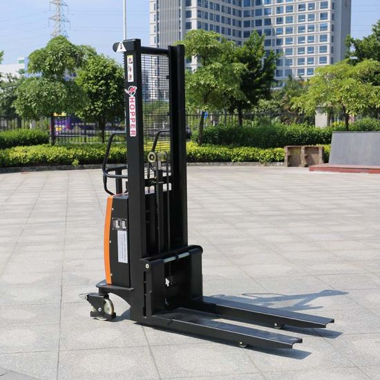 Marshell Brand High Performance Semi-Electric Stacker Trucks (CDSD10) pictures & photos