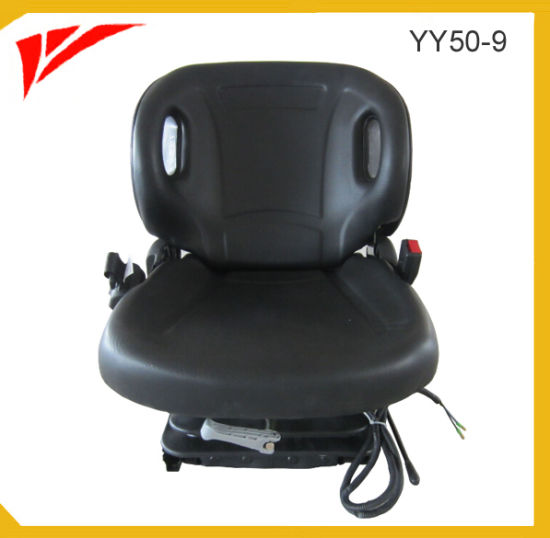 China Toyota Forklift Replacement Seat Compact Suspension Seat