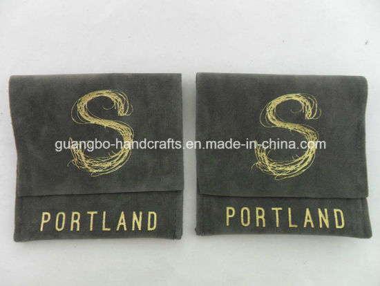 Custom Velvet Jewelry Pouch Wholesale pictures & photos