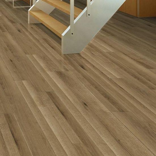 Durable Waterproof Environmental Non Deformation Real Wood Grain Laminate Flooring Board For Indoor Ground Paving