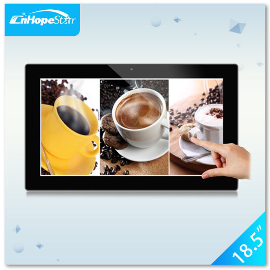 Desktop and Wall Mount 18.5 Inch Android Tablet Touch Screen All in One PC