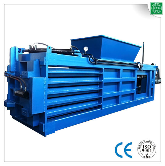 Has Conveyor Hydraulic Semi-Automatic Waste Paper Baler pictures & photos