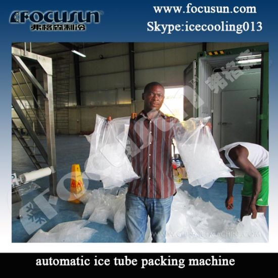 Tube Ice Machine with Ice Storage Customized pictures & photos
