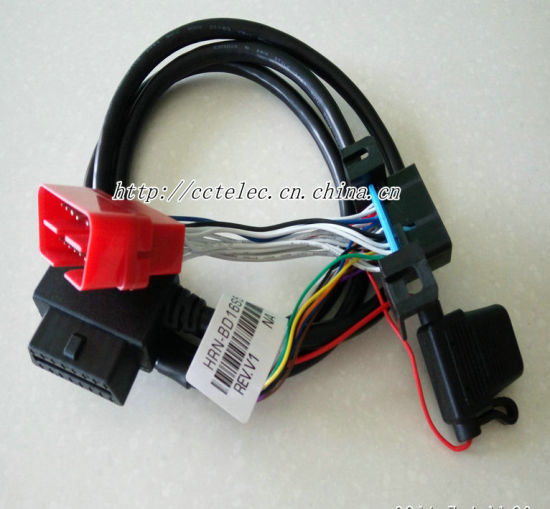 Obdii 16p F +Fuse to Obdii 16p M +F Cable pictures & photos