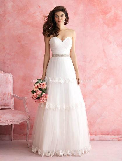 Sweetheart Organza Wedding Dress Bridal Gown