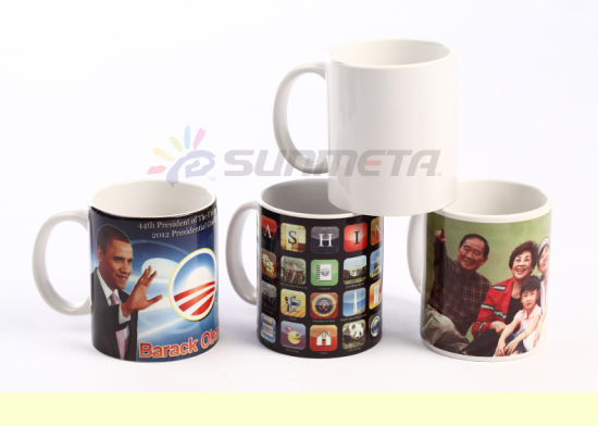 Yiwu Factory High Quality Lowest Price with Coating White Mug pictures & photos