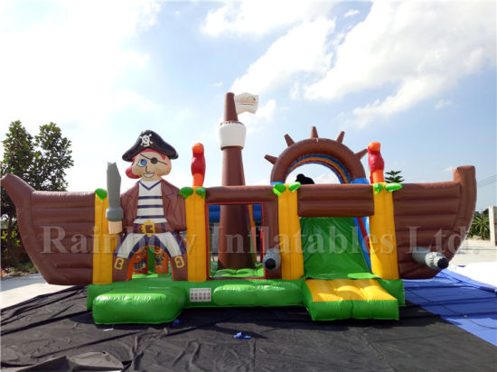 China New Design Inflatable Pirate Combo Bouncer with