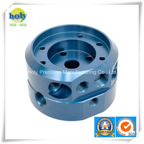 Custom Aluminum Machining Parts with Blue Anodize