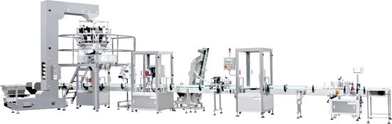 Production Line Liquid Bottle Capping and Filling Machine pictures & photos