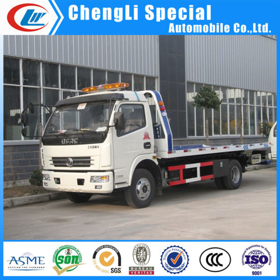 2018 New Design Road Recovery 4X2 Tow Truck with Good Price