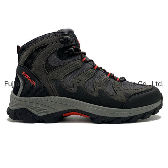 Suede PU Textile Outdoot Sports Shoes for Men