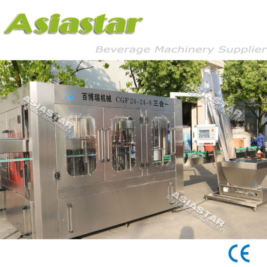 10000bph 500ml Automatic Pet Bottle Drinking Pure Mineral Water Washing Filling Sealing Machine