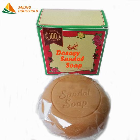 India Sandalwood Herbal Handmade Soap Skin Care Toilet Soap