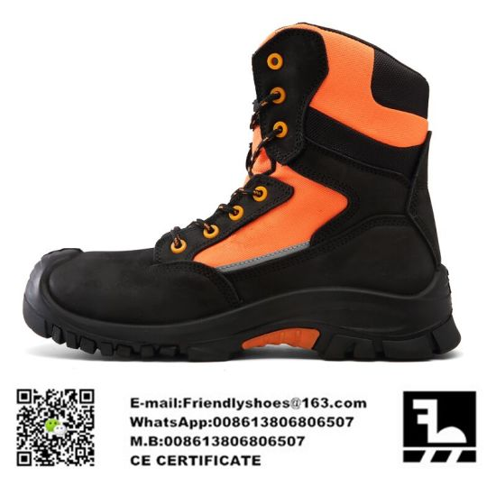 genuine leather work boots
