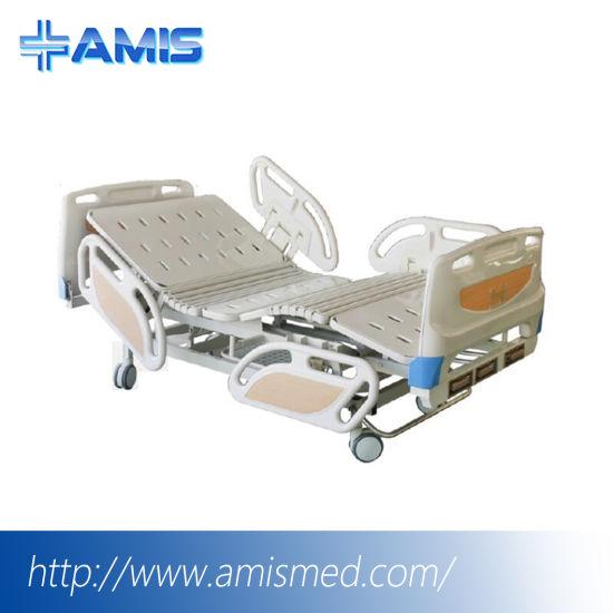 Manual Three-Crank Sickbed Patient Bed (AM-20303-3C)