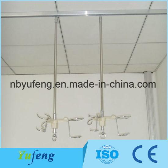 Hospital Using Flexible Ceiling Mounted Curtain Rail China