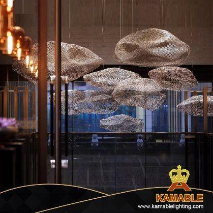 Modern Hotel Steel Custom-Made Pendant Light (KAJ0001)