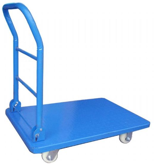 300kg Platform Heavy Duty Foldable Industrial Cargo Trolley pictures & photos