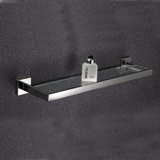 Wall Mounted New Square Style Inox Stainless Steel Glass