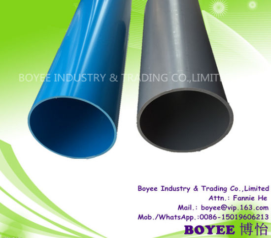 Drink Water Well Food Grade PVC Material Tube Pipe