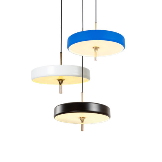 Painting Finished Drum Pendant Lights With Glass Shade For Dining Room Kitchen Hallways Bar Cafe
