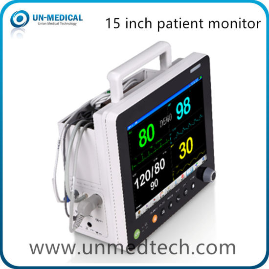 Medical Equipment Touch Screen Hospital Bedside Multi Parameter Vital Signs Patient Monitor