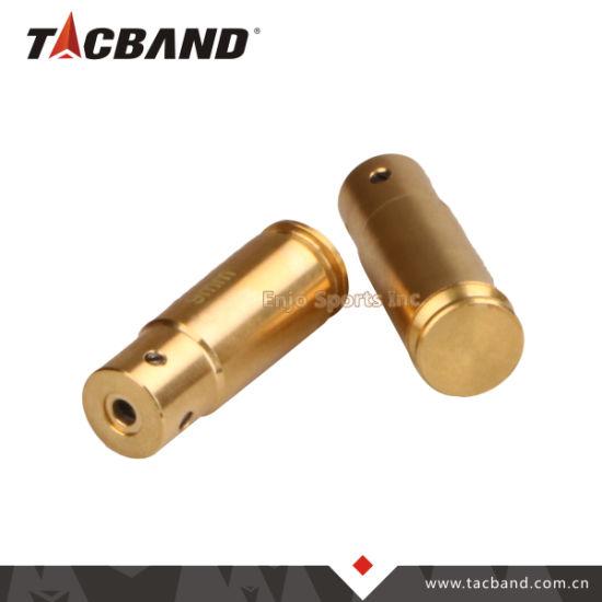 Brass Cartridge 9mm Red Laser Bore Sight