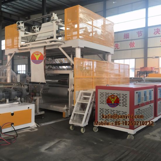Plastic PVC WPC Vinyl Panel/Plank/Board/Sheet/Tile Flooring Production Machinery Spc Flooring Extruding/Extrusion/Extruder Making Machine pictures & photos