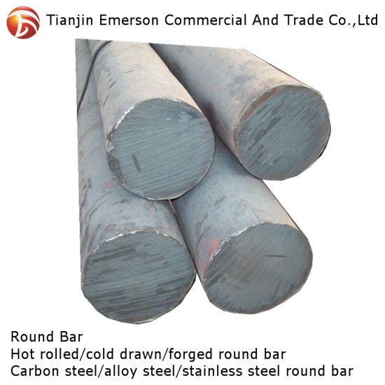 4140 4145 4340 50crmo4 Hot Rolled Forged Alloy Carbon Steel Round Bar