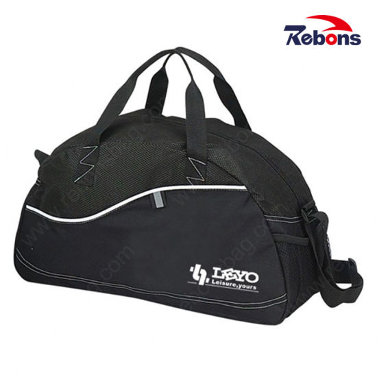Oversized Canvas Leather Trim Travel Tote Duffel Handbag Weekend Bag with Dumpling Type