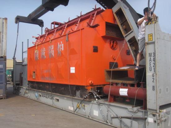 China 10t Horizontal Type Chain Grate Kinds Biomass-Burned Steam ...