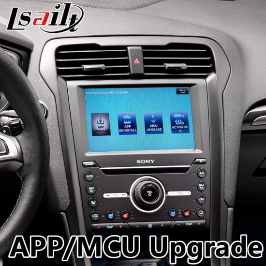 China Android 6 0 GPS Navigation Box for Ford Fusion Sync 3