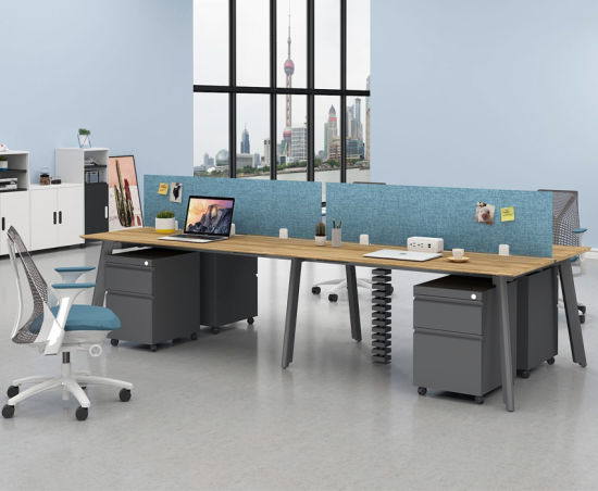 Office Furniture 2 Person Office Workstation For Small Office