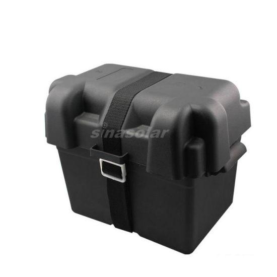 Portable Plastic Waterproof Solar Battery Box for Caravan RV Motor Home Yacht Marine