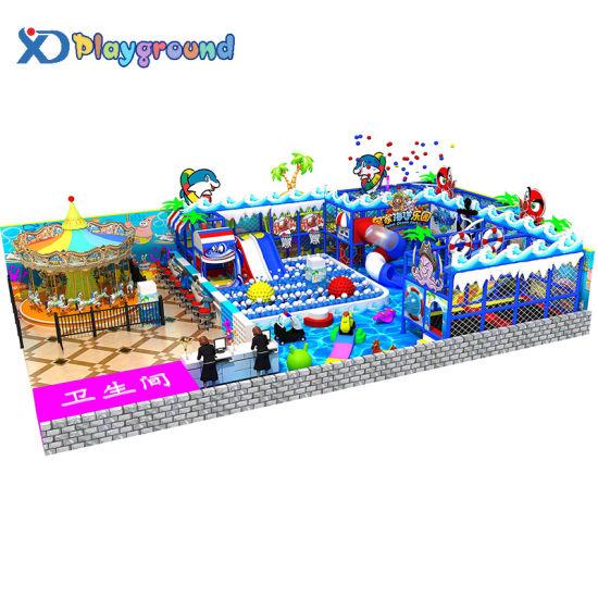 Family Entertainment Center Children Indoor Playground Equipment