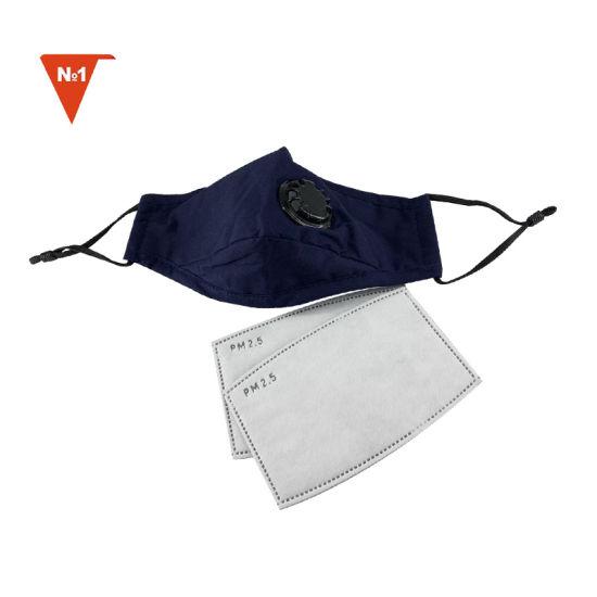 Fashion Washable Anti Smog Pollution Pm2.5 KN95 Cotton Dust Mask