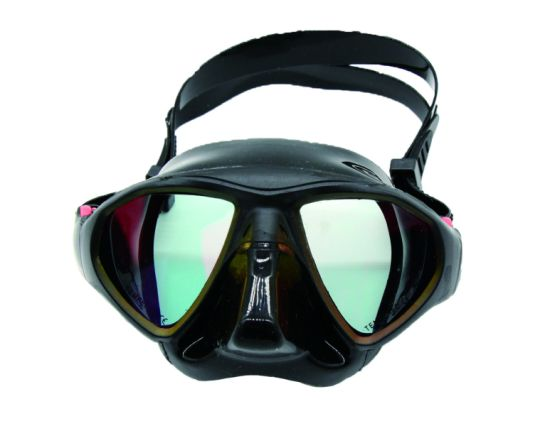Premium Adult Scuba Snorkeling Dive Mask, Easy Adjustable Strap, Water-Tight Seal, Low Volume Lens for Best Vision