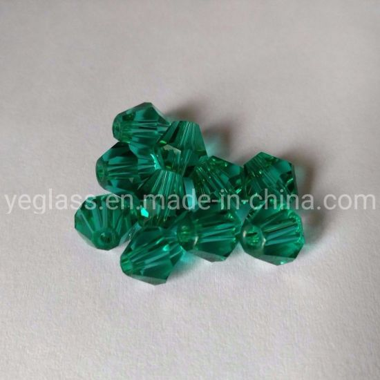 Wholesale 4mm 6mm Bicone Beads Glass Beads for Jewelry Making pictures & photos