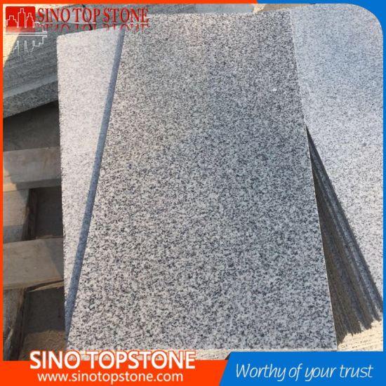 Polished Surface China Bianco Crystal Grey G603 Granite Flooring Tiles